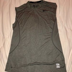 Men's Nike Combat Pro Fitted Muscle Tee